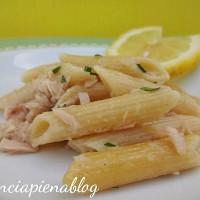 Pennette con tonno e limone (ricette d'estate)