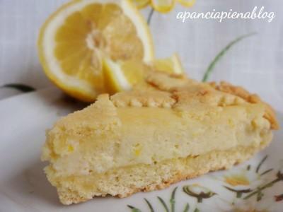 Crostata con ricotta al limone