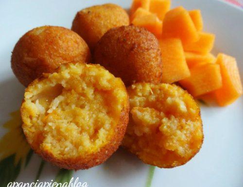 Polpette di zucca (ricetta tradizionale e bimby)