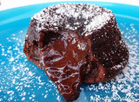 Tortino al cioccolato dal cuore tenero (tradizionale e bimby)