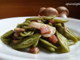 foglie di ulivo con funghi e pancetta a pancia piena blog