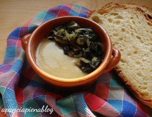 Fave e cicorie (ricetta tradizionale e bimby)