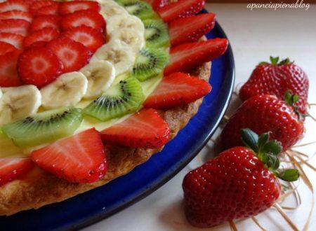 Crostata alla frutta (preparazione tradizionale e bimby)