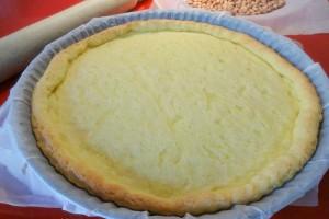 Crostata, cottura in bianco (preparazione tradizionale e bimby)