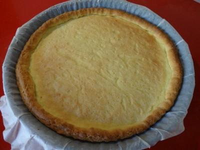 crostata cottura in bianco a pancia piena