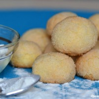 biscotti con farina di riso a pancia piena