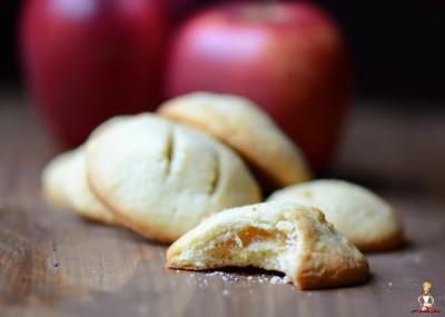 biscotti cuor di mela a pancia piena 2 blog