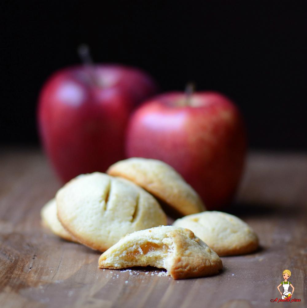 biscotti cuor di mela a pancia piena