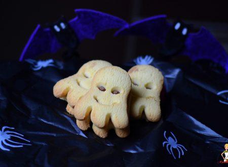 Biscotti fantasmini (preparazione tradizionale e bimby)