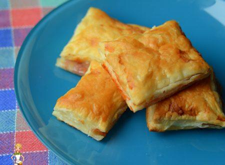 Rustici prosciutto e mozzarella (ricetta semplice)