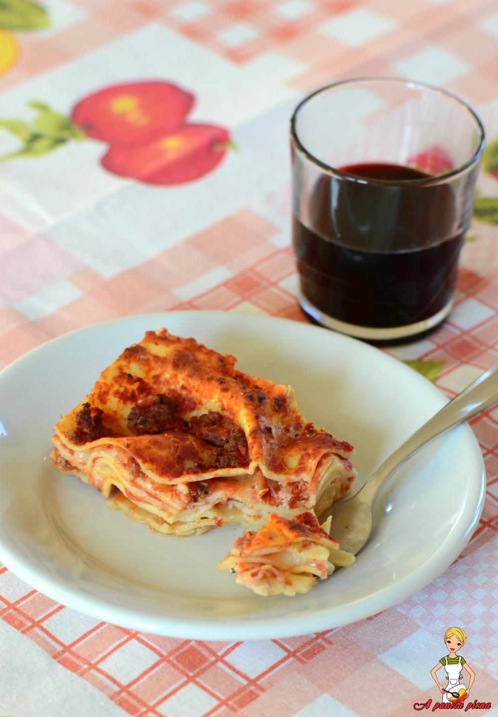 lasagna al forno a pancia piena