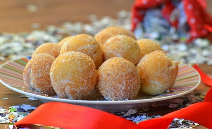 Castagnole (ricetta tradizionale e bimby)