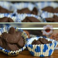 mandorle al cioccolato a pancia piena