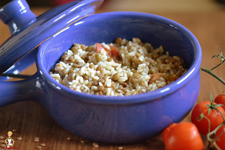 riso e lenticchie a pancia piena