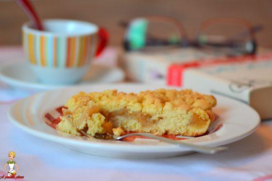 Sbriciolata di mele (ricetta tradizionale e bimby)