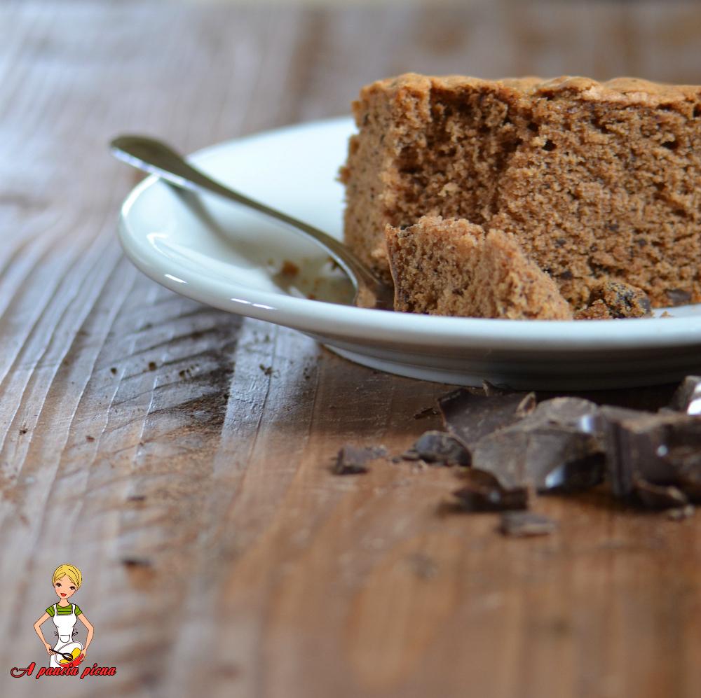 torta sofficissima al cioccolato a pancia piena