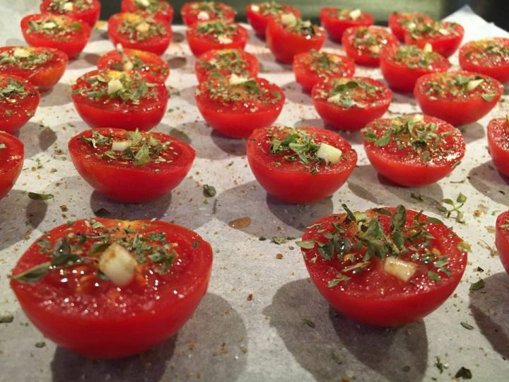 pomodorini confit a pancia piena
