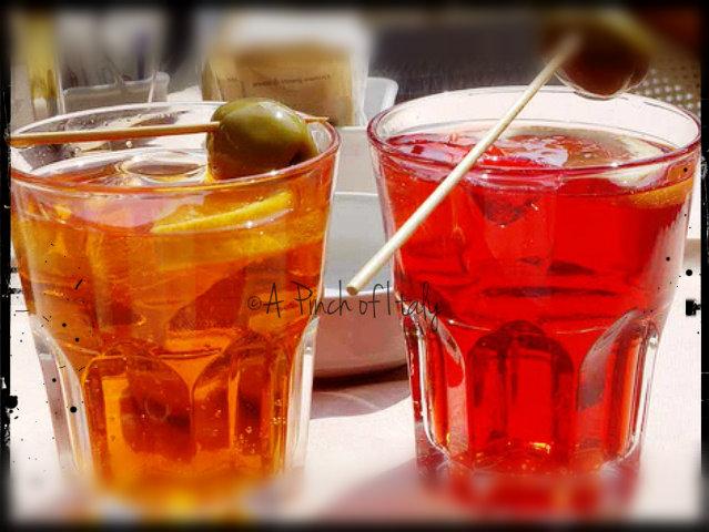 Spritz drink alcolico a pinch of italy for Bicchiere da spritz