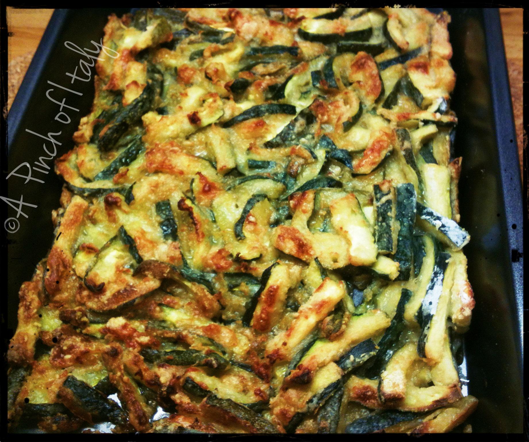Zucchine nobili ricetta facile a pinch of italy for Cucinare per 40 persone