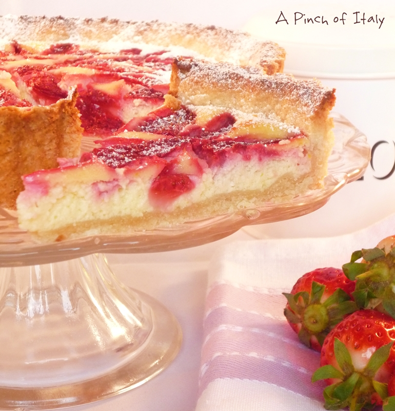 Gluten Free Strawberry and Cream Cheese Tart , Ingredients