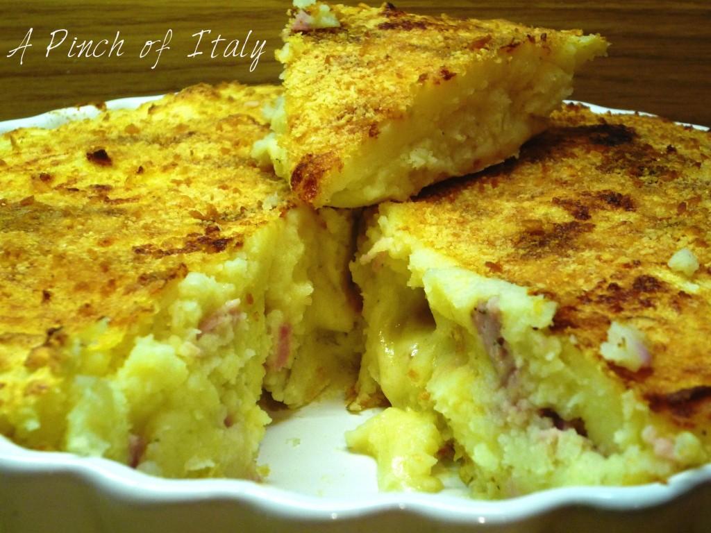 Gateau di Patate, ricetta tradizionale, A Pinch of Italy