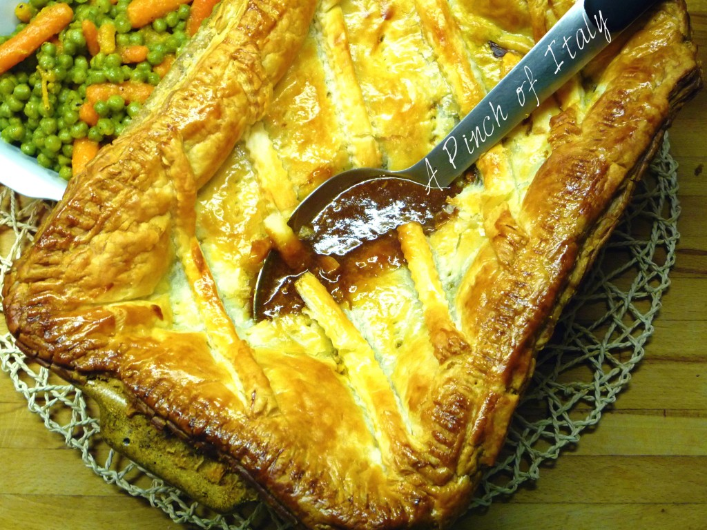 Steak and Ale Pie, A Pinch of Italy