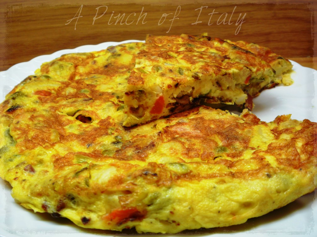 Bubble and Squeak Frittata, A Pinch of Italy