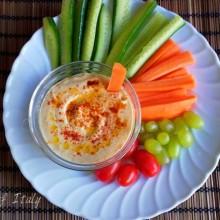 Hummus di ceci fatto in casa