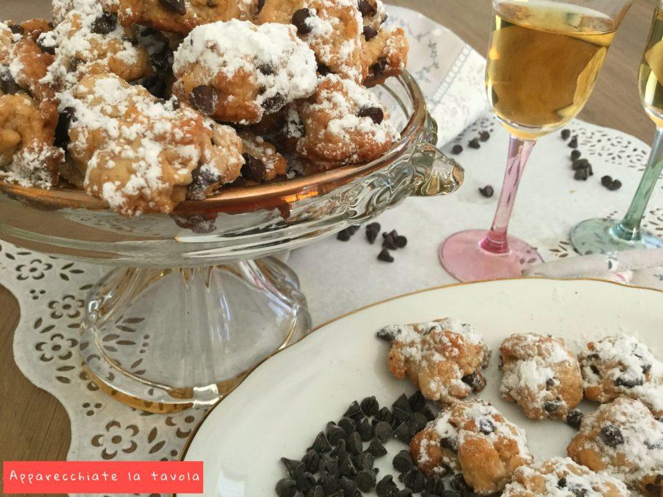 biscottini con vin santo