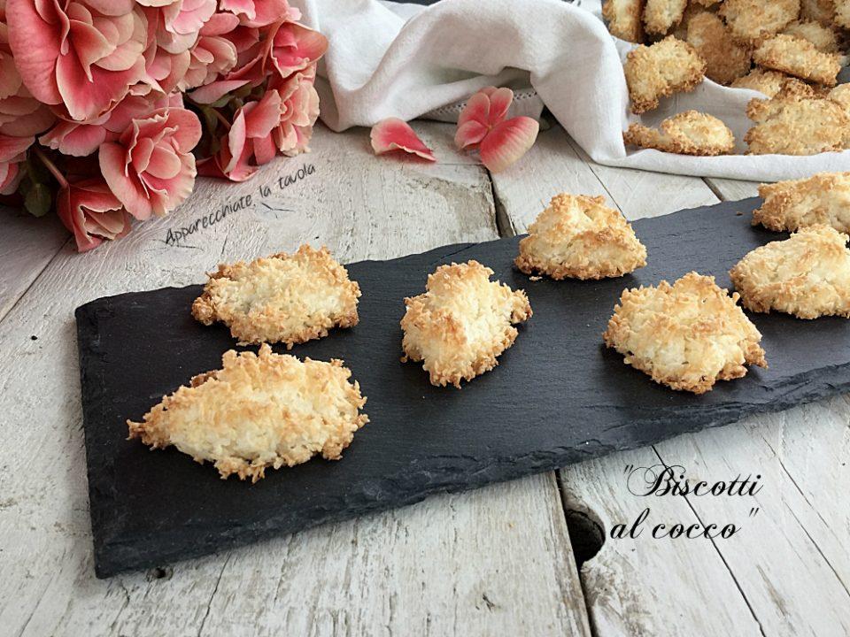 Biscotti al cocco ricetta