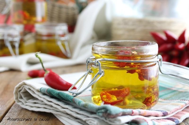 ricetta olio aromatizzato