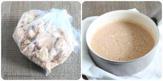 ricetta preparazione crema amaretti