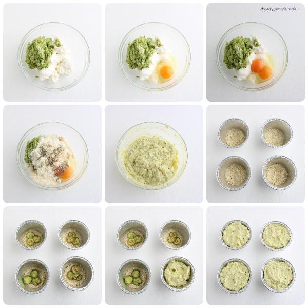 come fare lo sformato di zucchine e ricotta