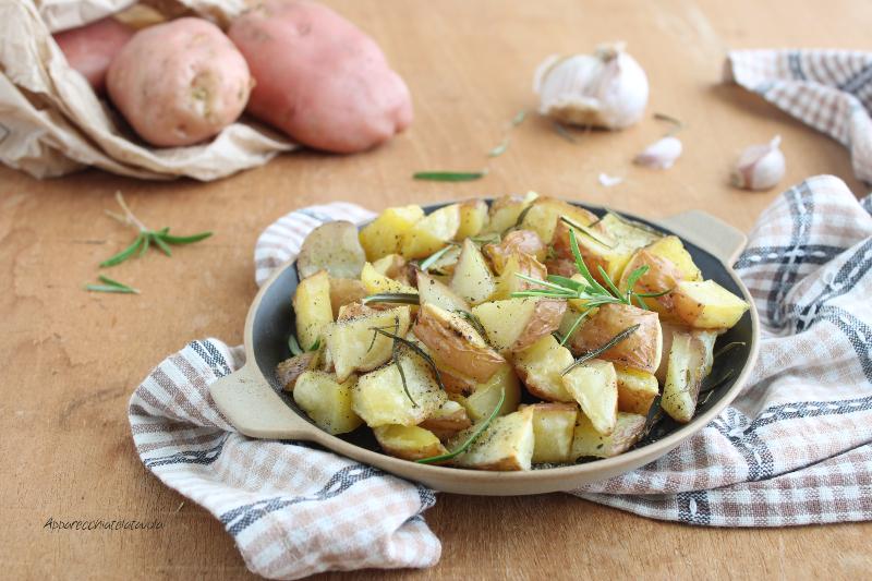 patate al forno con buccia