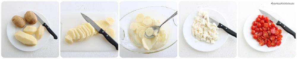 come pelare le patate