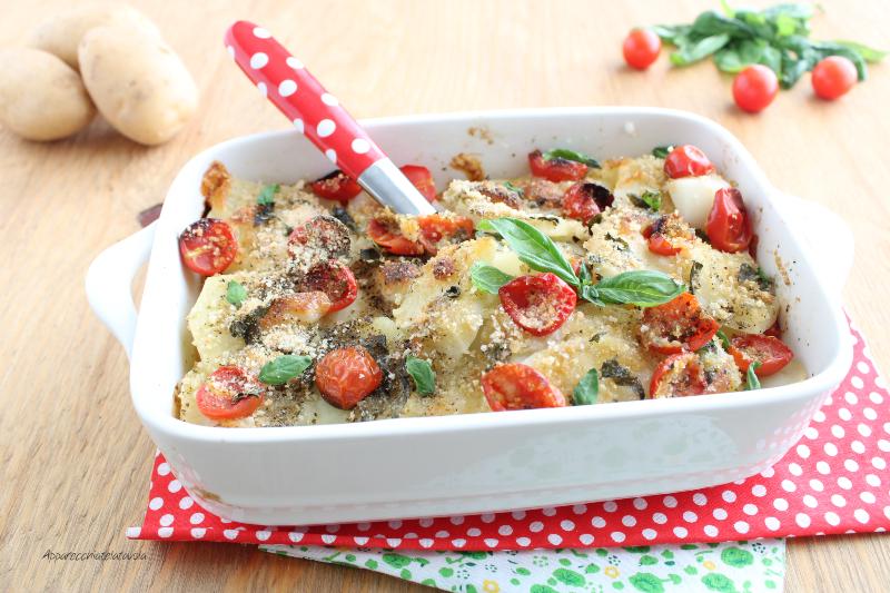 ricetta patate al forno con pangrattato