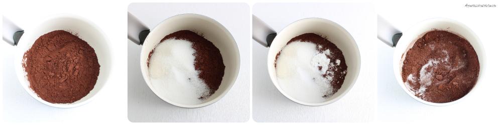 topping al cioccolato