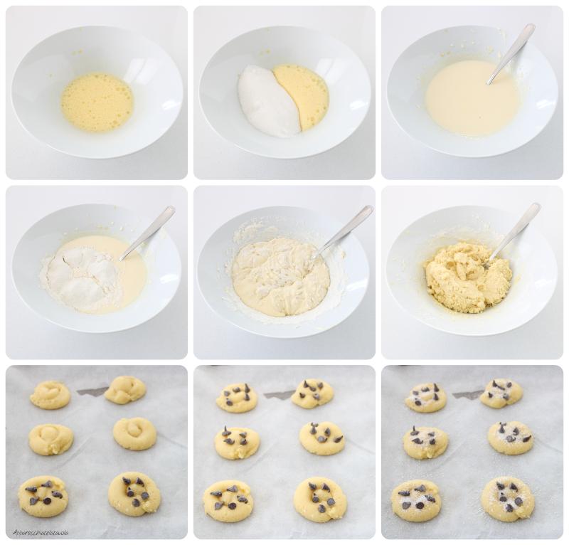 ricetta biscottini senza lievito