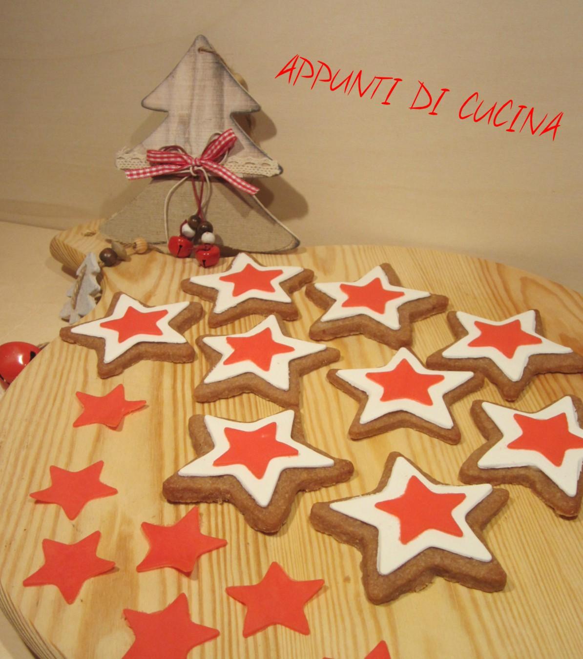 Stella Di Natale In Casa.Biscotti Stella Di Natale