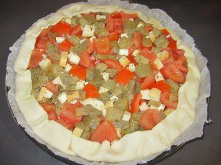 torta salata di melanzane