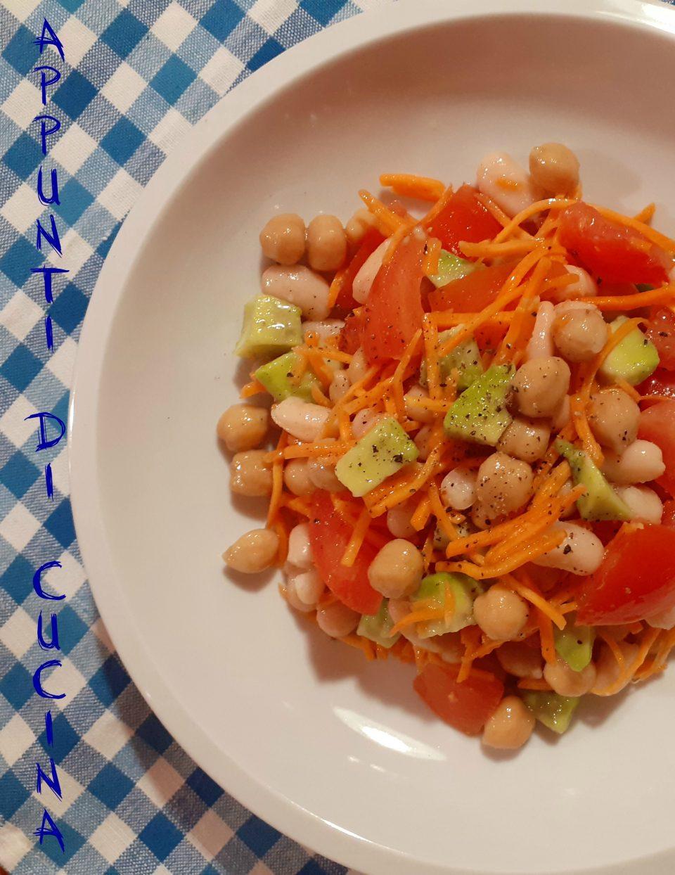 insalata di legui e avocado