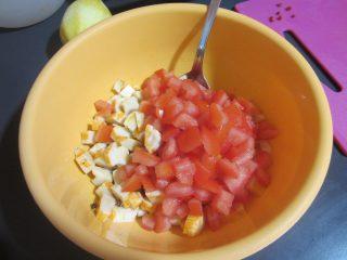 insalata esotica con ananas