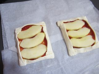 sfogliatine alla mela