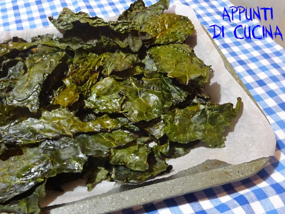Chips di cavolo nero