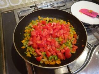 Focaccia alle verdure miste