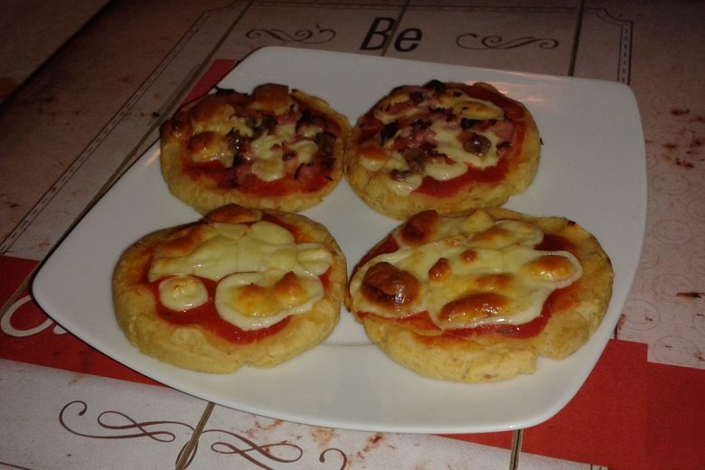 Pizzelle mordide con patate