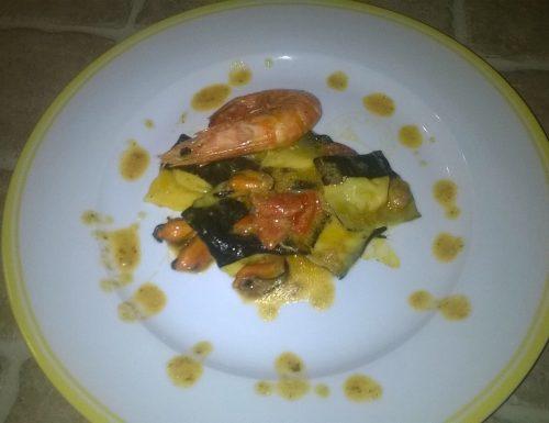 Tortelli di pesce Bicolore