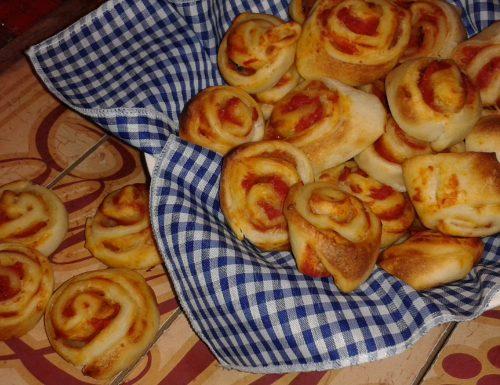 Le Girelle di pizza by Montersino