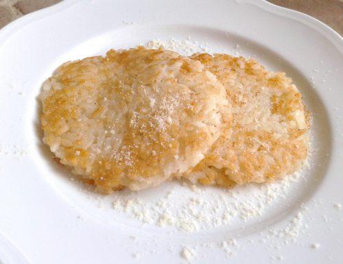 Rosti di Riso al Parmigiano Reggiano