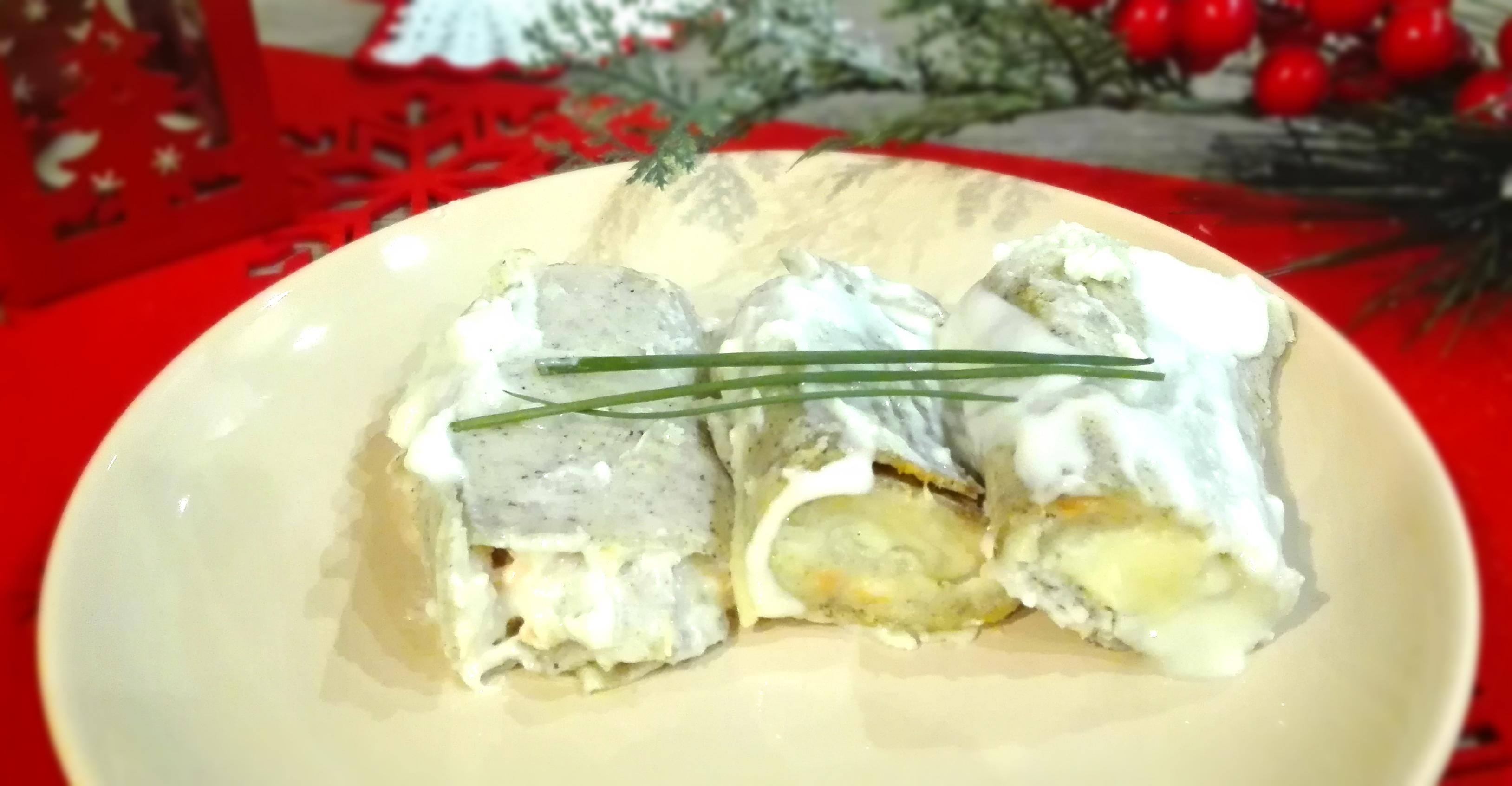 Crêpes di grano saraceno al Salmone